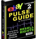 """Ebay Pulse Guide"""