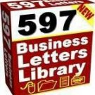 """597 Business Letters Library"""