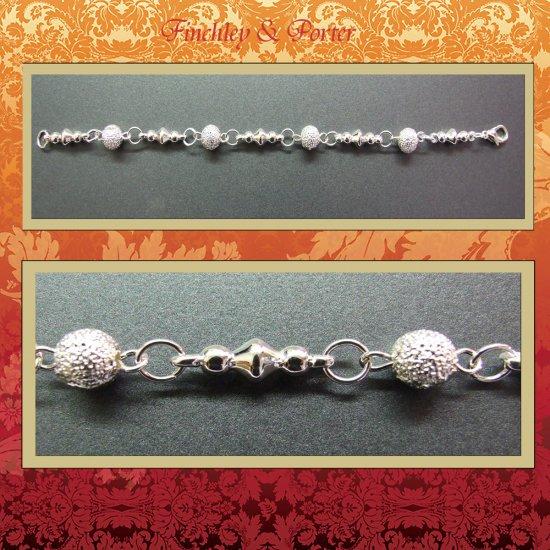 Fashion Bracelet - Snow Balls