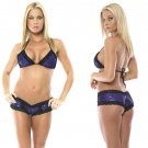 Tri Top w/Lace Trim Short Set