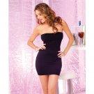 Perfect Black Tube Dress PL5003