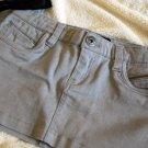 Grey mini skirt
