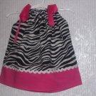 Boutique Zebra Print Pillowcase Dress