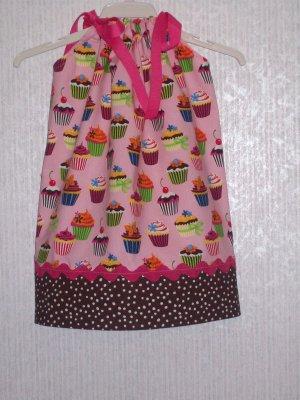Boutique Cupcake Pillowcase Dress
