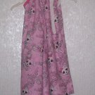 Pink Skull Pillowcase Dress