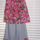 Girl's Paisley Outfit, Size 4T/5T