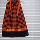 Orange/Black Pillowcase Dress
