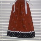 University of Texas Pillowcase Dress Matching Bow