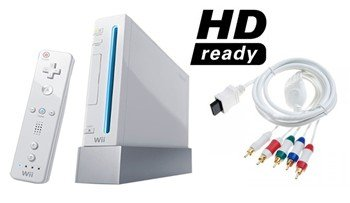 Nintendo Wii Sport HD Bundle - 5 Games, HD Cables, and More