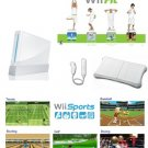 Nintendo Wii System with Wii Fitness Bundle