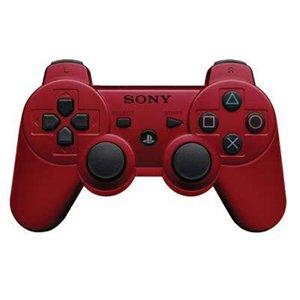 PS3 CECHZC2U DualShock 3 Wireless Controller- Dark Red