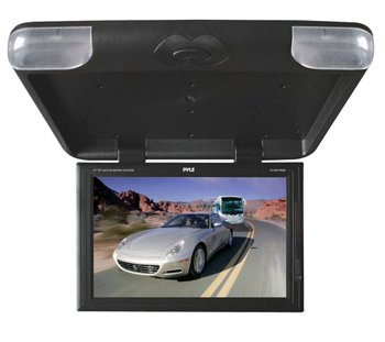 Pyle PLVW1782R 17'' High Resolution Widescreen TFT LCD Roof Mount Monitor