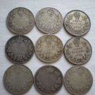 Canada, 10 Cents, 1917, 1935, 1931, 1920, 1919, 1931, 1928, 1914, 1899
