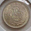 Netherlands, 10 Cents, 1944 S