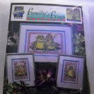 Counted Cross Stitch kit from True Colors International - Family of Frogs