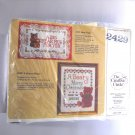 Cross Stitch kit  from The Creative Circle (1987 Printed in USA ) - A Beary Merry Christmas