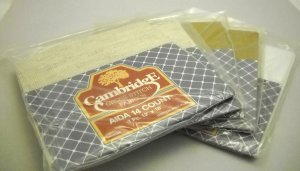 Cross Stitch fabric from Cambridge - Lot of 4 Aida 14 count