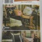 Simplicity Pattern 5236 - (2004) -  Zen Inspiration pillows