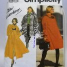 Pattern 7451 from Simplicity (1991) Size A (PT - XL) - Misses'/Miss Petite Lined Coat pattern