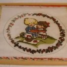 Partially Worked Needlepoint Canvas Made in England by Tapestry Bazaar