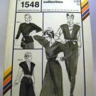 "Stretch & Sew Pattern 1548 - (1983) - french ""t"" collection"