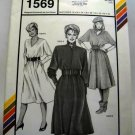 Pattern 1569 from Stretch & Sew(1984) - dolman dress
