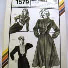 Pattern 1579 from Stretch & Sew(1982) - tuxedo dress and blouse