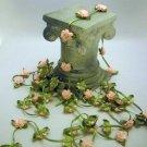 Pink rose trim