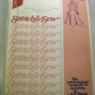 Pattern 420 from Stretch & Sew(1974) - Box Pleated Skirt