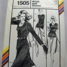 Pattern 1505 from Stretch & Sew(1979) - basic dress and blouse