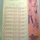 Pattern 1592 from Stretch & Sew(1979) - chemise dress and gathered raglan dress & blouse