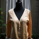 Moth V Neck Cardigan Sweater - Size L
