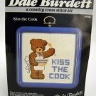 Counted Cross Stitch kit from Dale Burdett (1985) -  Kiss the Cook