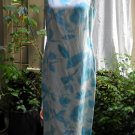 Laura Ashley Silk/Linen Sleeveles Dress size 8 (UK 12)