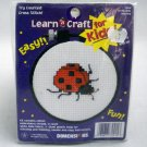 Counted Cross Stitch kit from Learn a Craft Dimensions (1997) - Be My Little Lady Bug