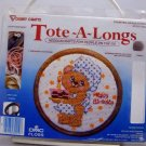 Counted Cross Stitch kit from Tote A Longs Vogart Crafts - Happy Birthday style 201J
