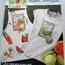 No-Sew Fabric Applique from Daisy Kingdom - 6933 Vegetable Seed Packets
