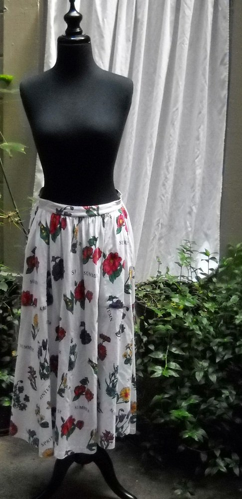 Adrienne Vittadini Sport cotton knit skirt - Size 8