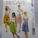 Pattern M4838 from McCall's (2005) Size DD (12-14-16-18) - Misses' Lined Skirt pattern