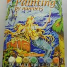 Unpainted Painting by Numbers Kit from Royal & Langnickel - Mermaid PJS19