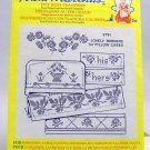 Aunt Martha's Hot Iron Transfers from Colonial Patterns, Inc.-3791 Lovely Borders for Pillow Cases
