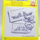 Aunt Martha's Hot Iron Transfers from Colonial Patterns, Inc.-3213 Pretty Rose Motifs