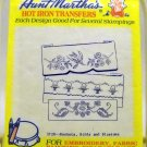 Aunt Martha's Hot Iron Transfers from Colonial Patterns, Inc.-3728 Baskets, Birds and Blossoms