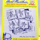 Aunt Martha's Hot Iron Transfers from Colonial Patterns, Inc. - 3355 Here Come the Indians