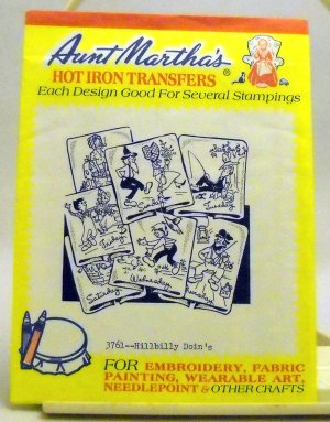 Aunt Martha's Hot Iron Transfers from Colonial Patterns, Inc. - 3761 Hillbilly Doin's