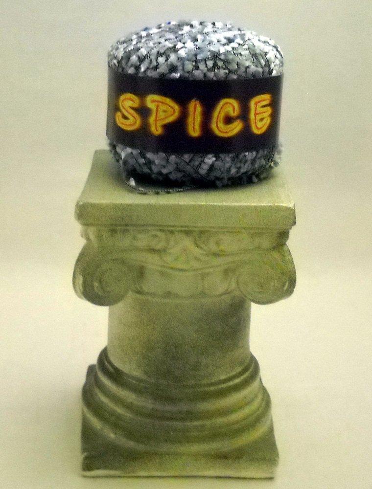 Spice by Knitting Fever Yarn 125 yd (50 gram) ball - shades of blue