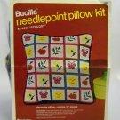 Vintage Needlepoint Pillow kit from Bucilla - Ecology Kit 4493