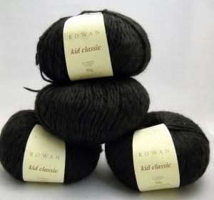 Rowan Kid Classic Yarn 1-3/4 oz (50 g) skein - Lot of 4  color smoke 831