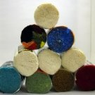 Pre-Cut Rug Yarn - 10 assorted rounds