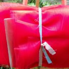 "52/54""wide X 12yds of Red Nylon Tulle"